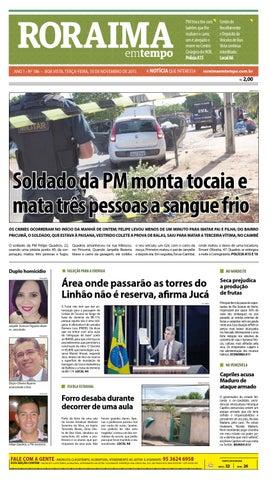 Jornal roraima em tempo – edição 186 – período de visualização ... 5acbdc60fdc