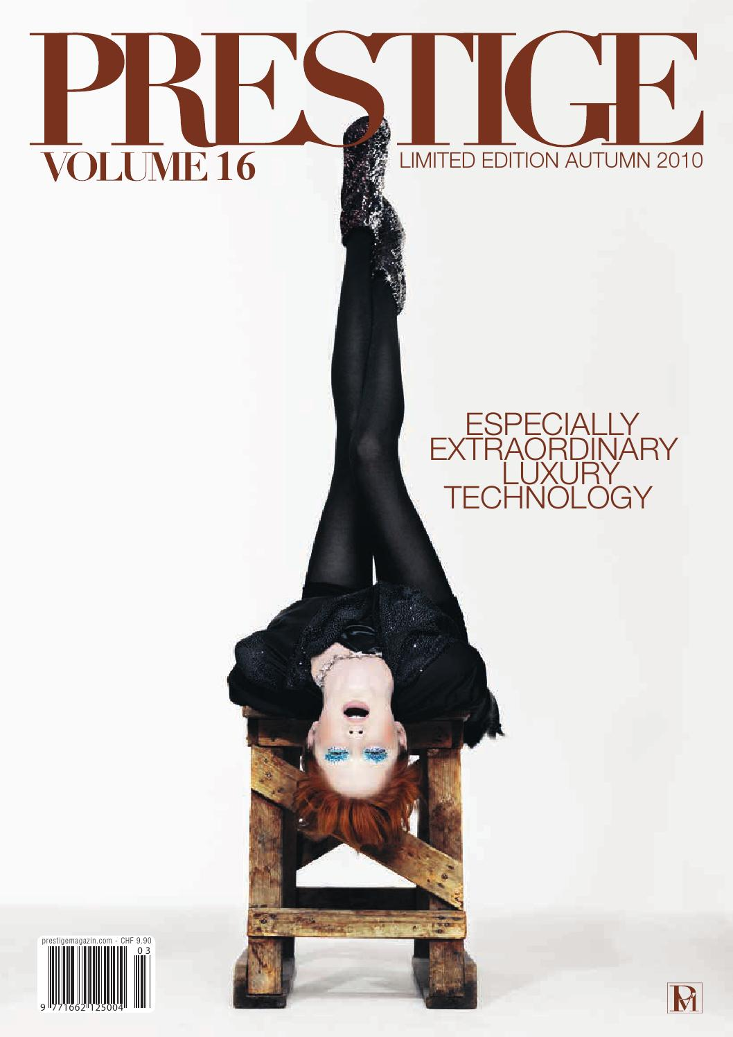 PRESTIGE Switzerland Volume 16 by rundschauMEDIEN AG - issuu