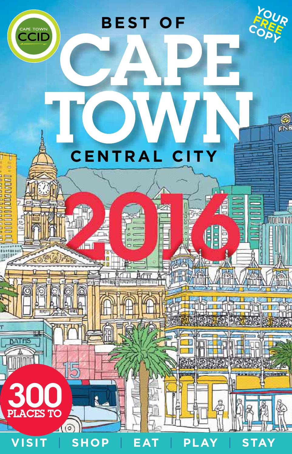 Best Of Cape Town Central City Guide 2016