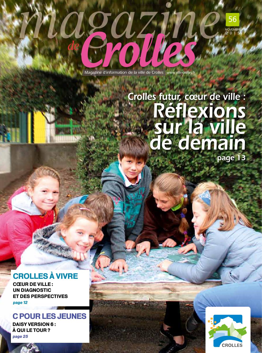 Magazine de crolles num 56 novembre 2015 by ville de for Piscine de crolles
