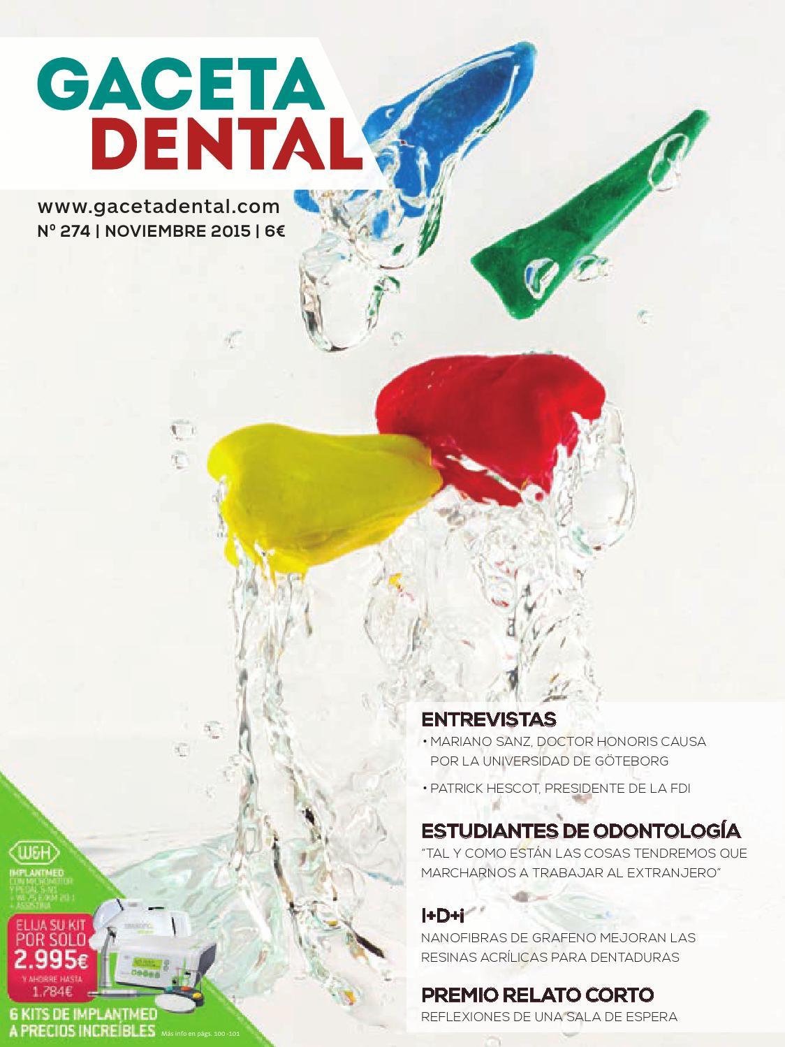 Gaceta Dental - 274 by Peldaño - issuu