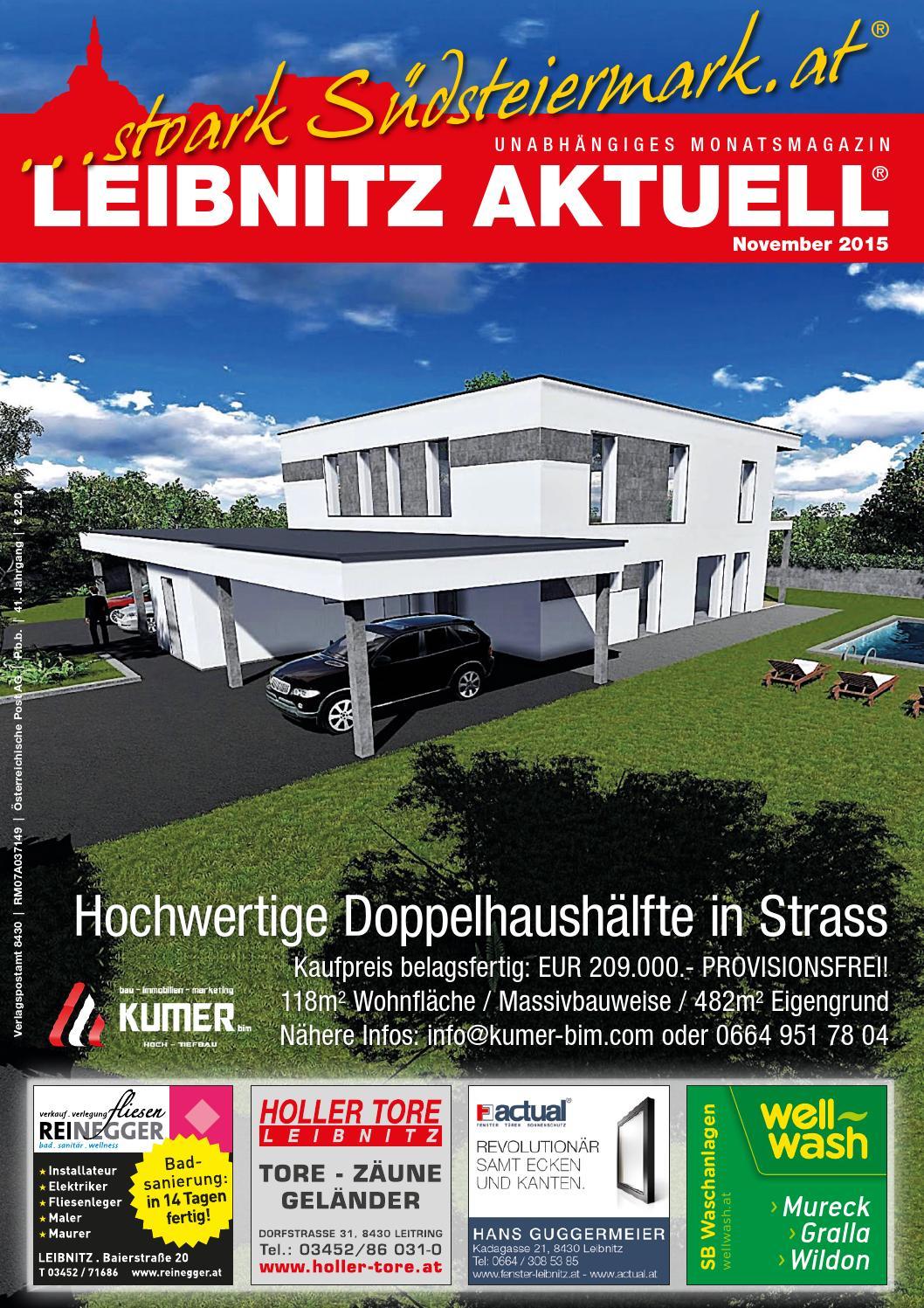 9bc5213b12042d November 2015 LEIBNITZ AKTUELL by Leibnitz Aktuell - issuu