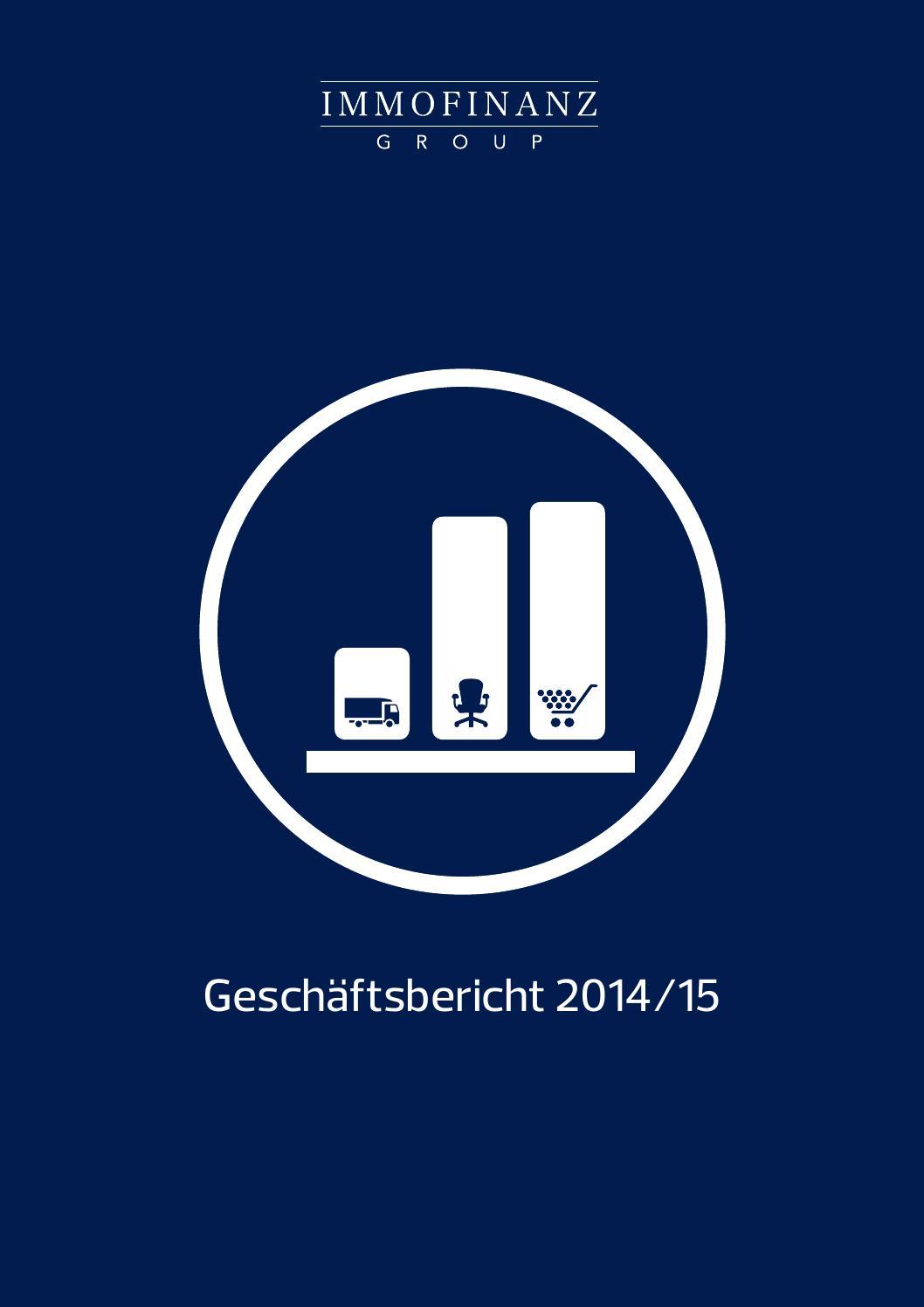 Geschäftsbericht 201415_Immofinanz by Styria Börse Express