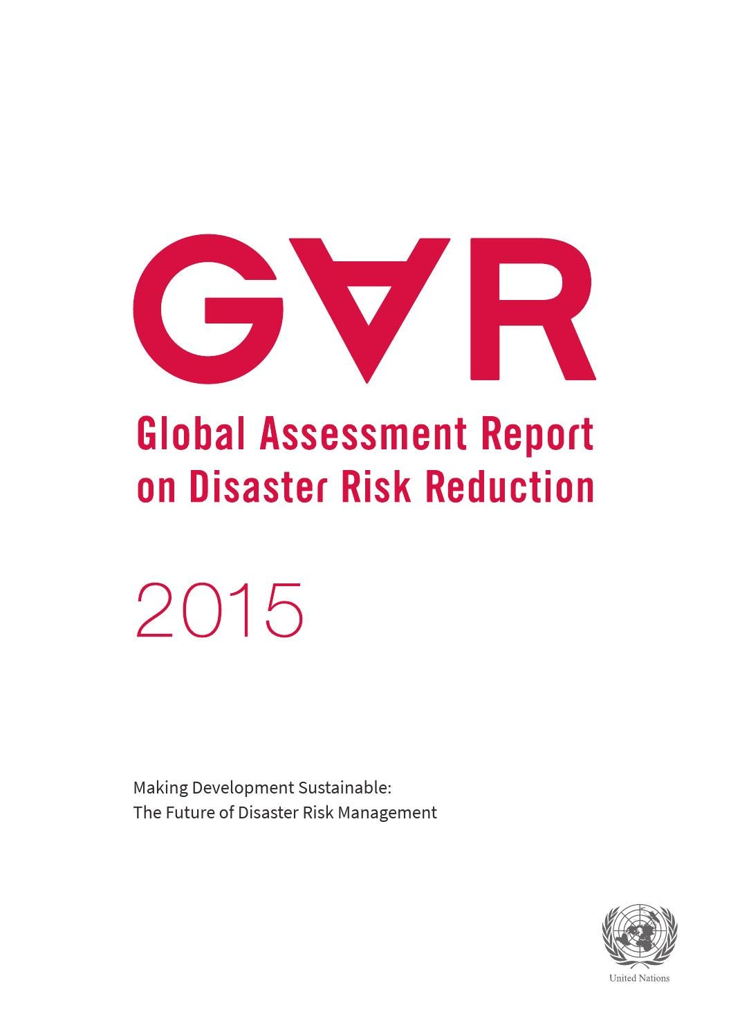 Global Assessment Report 2015 by United Nations Publications