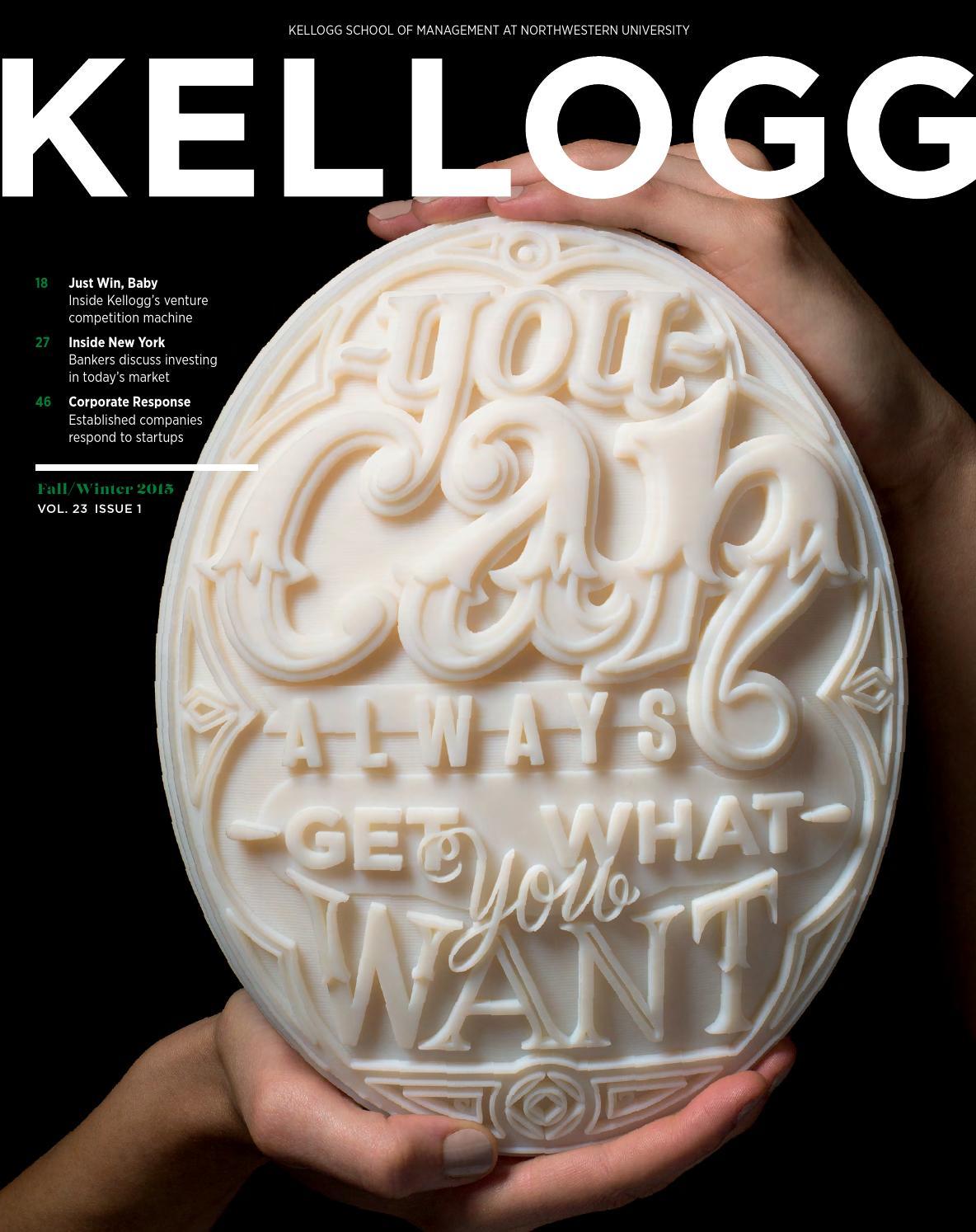 17faa68e1dfa8 Kellogg Fall Winter 2015 by Kellogg School of Management - issuu