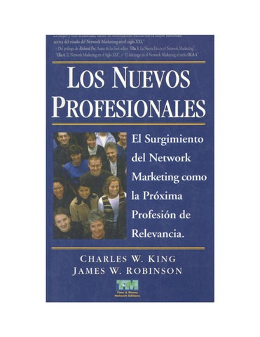 Los Nuevos Profesionales Charles King Y James Robinson By