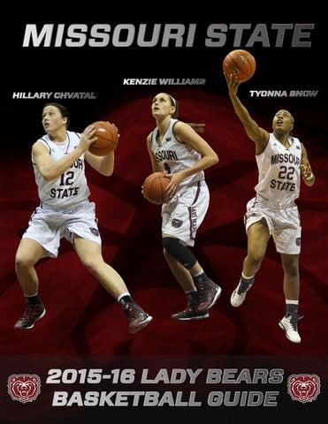 low priced 31983 da5f9 2015-16 Missouri State Women s Basketball Guide by Missouri State ...
