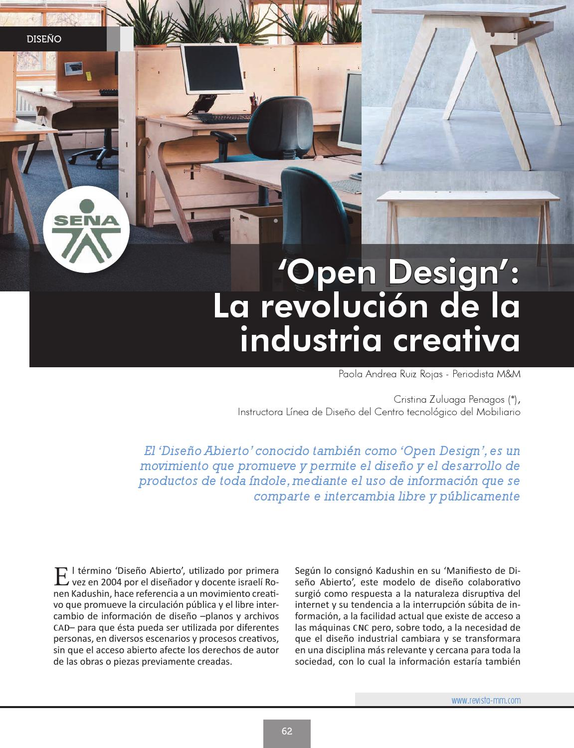 Open Design La Revoluci N De La Industria Creativa By