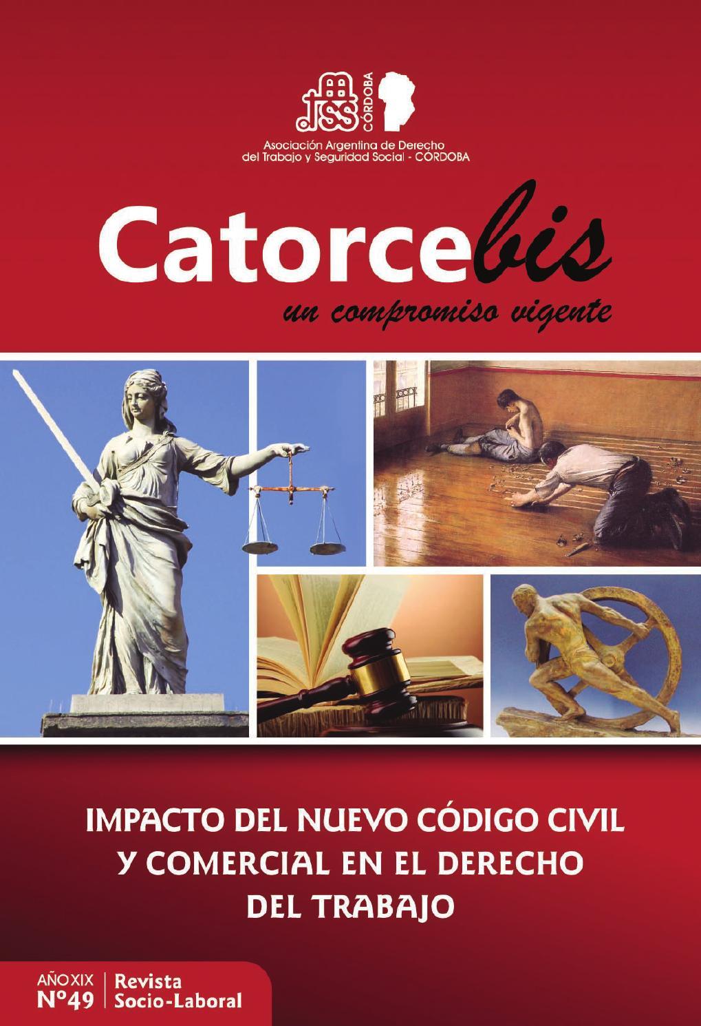 Catorce Bis Nº 49 by Asociación Laboral AADTSSCba - issuu