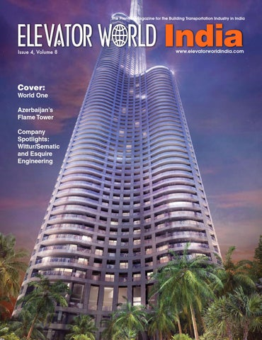 Elevator World India 4q 2015 by Elevator World - issuu