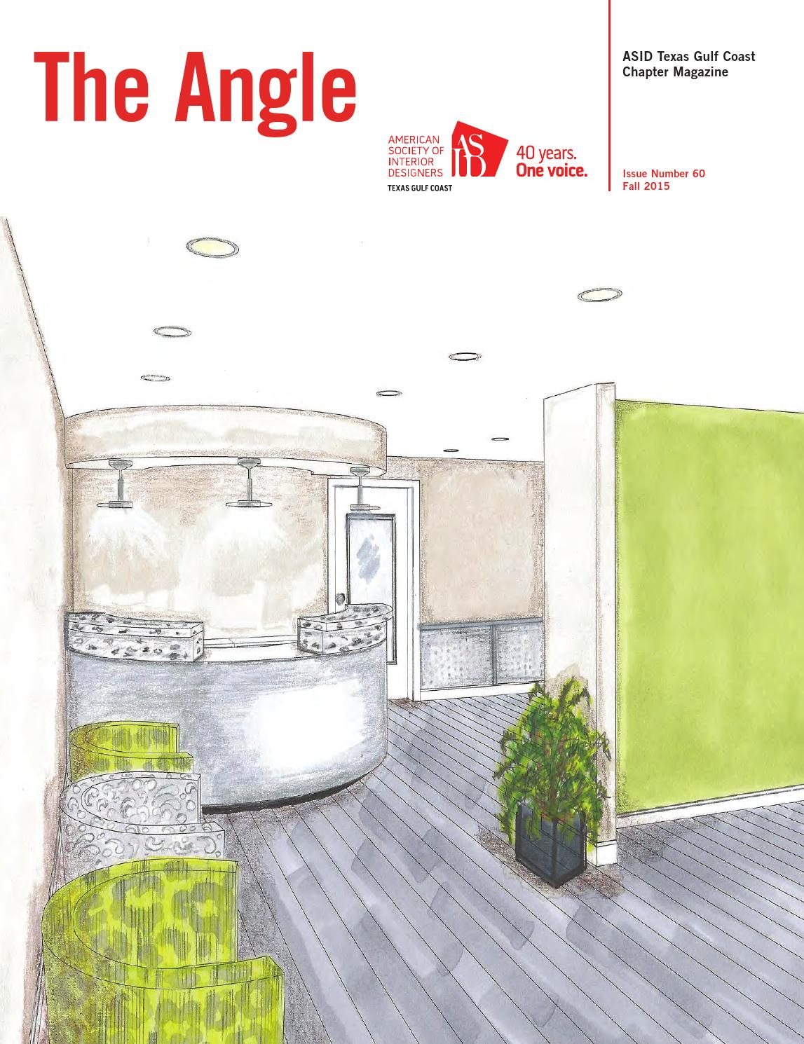 Asid texas gulf coast chapter fall 2015 by dsa publishing for Asid gulf coast chapter