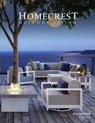 Homecrest Outdoor Living : 2016 Homecrest Catalog by Homecrest Outdoor Living - Issuu