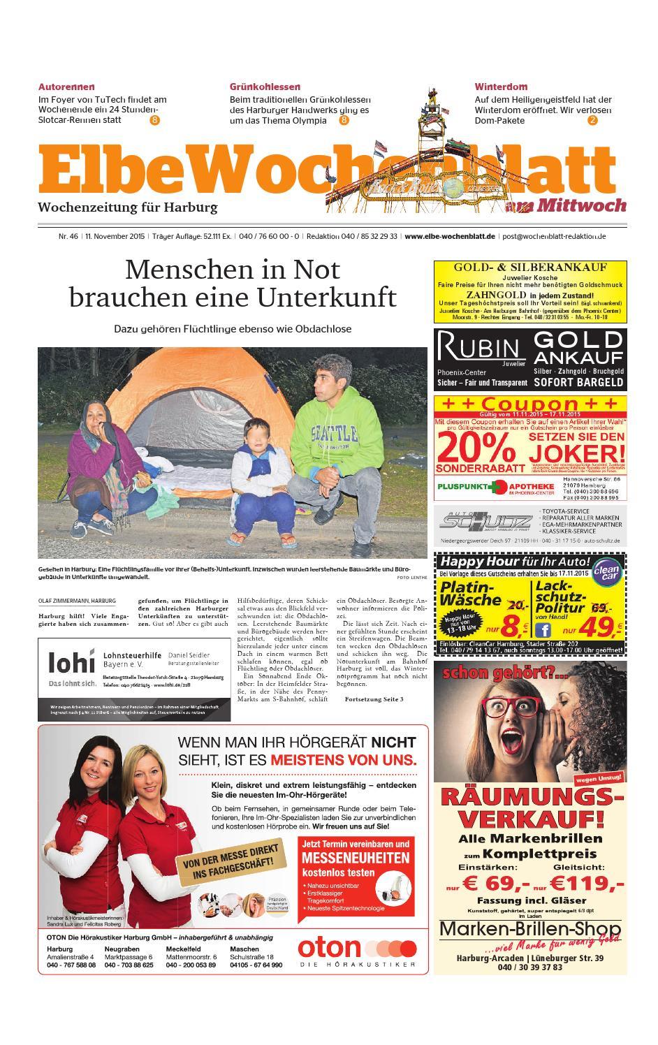 Harburg KW46-2015 by Elbe Wochenblatt Verlagsgesellschaft mbH & Co ...