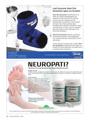 neuropati i ben