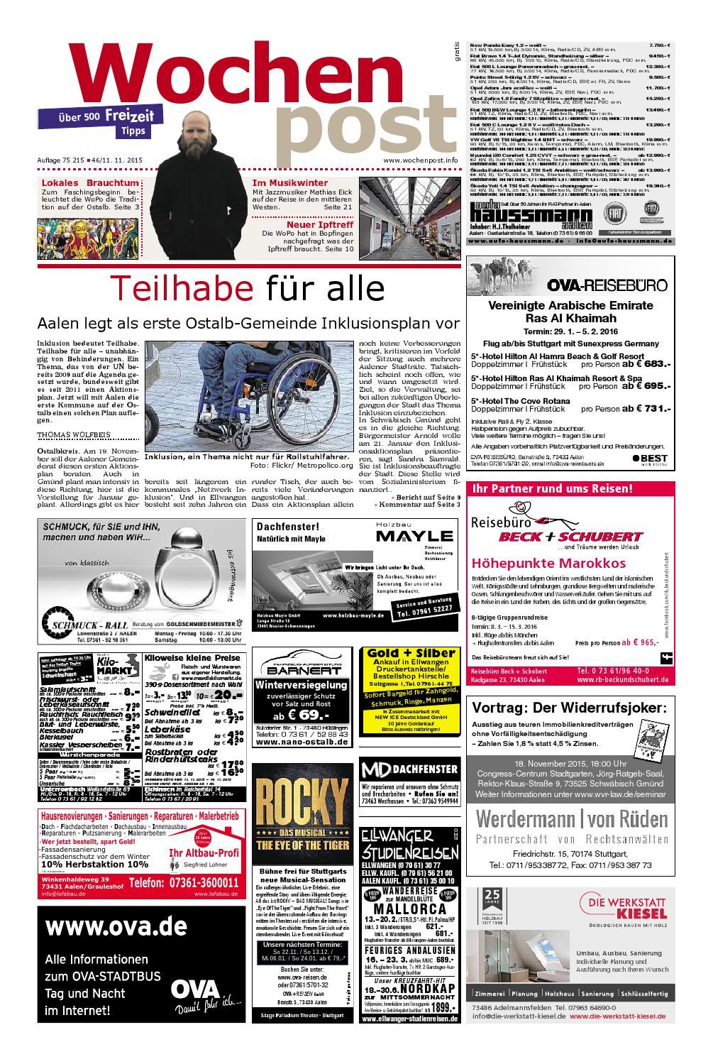Die Wochenpost - KW 46 by Wolfram Daur - issuu