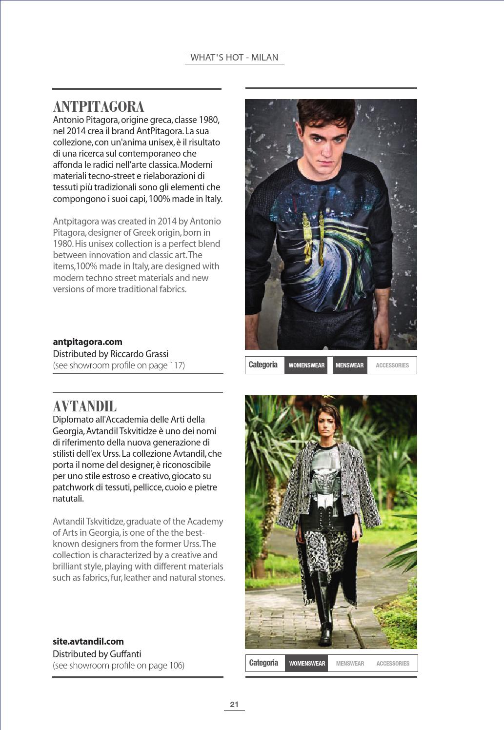 Fashion Showroom all 5 2015 by Fashionmagazine - issuu