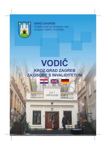 Vodic Kroz Grad Zagreb Za Osobe S Invaliditetom By Uriho Zagreb