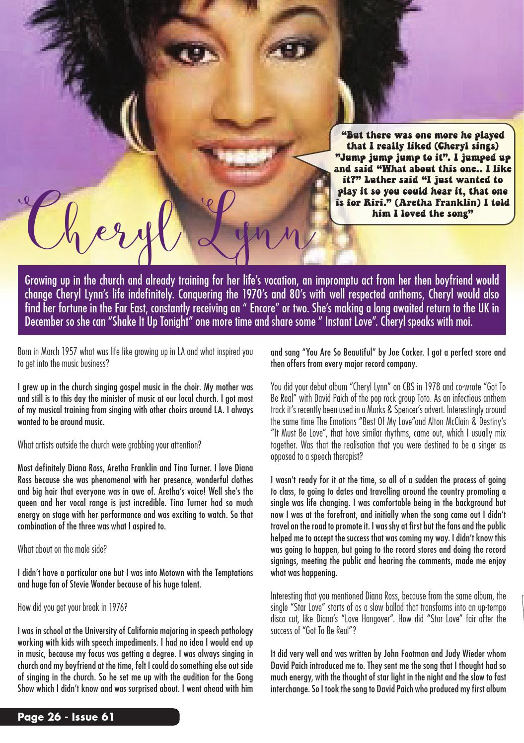 Issue 61 updated by The Soul Survivors Magazine - issuu