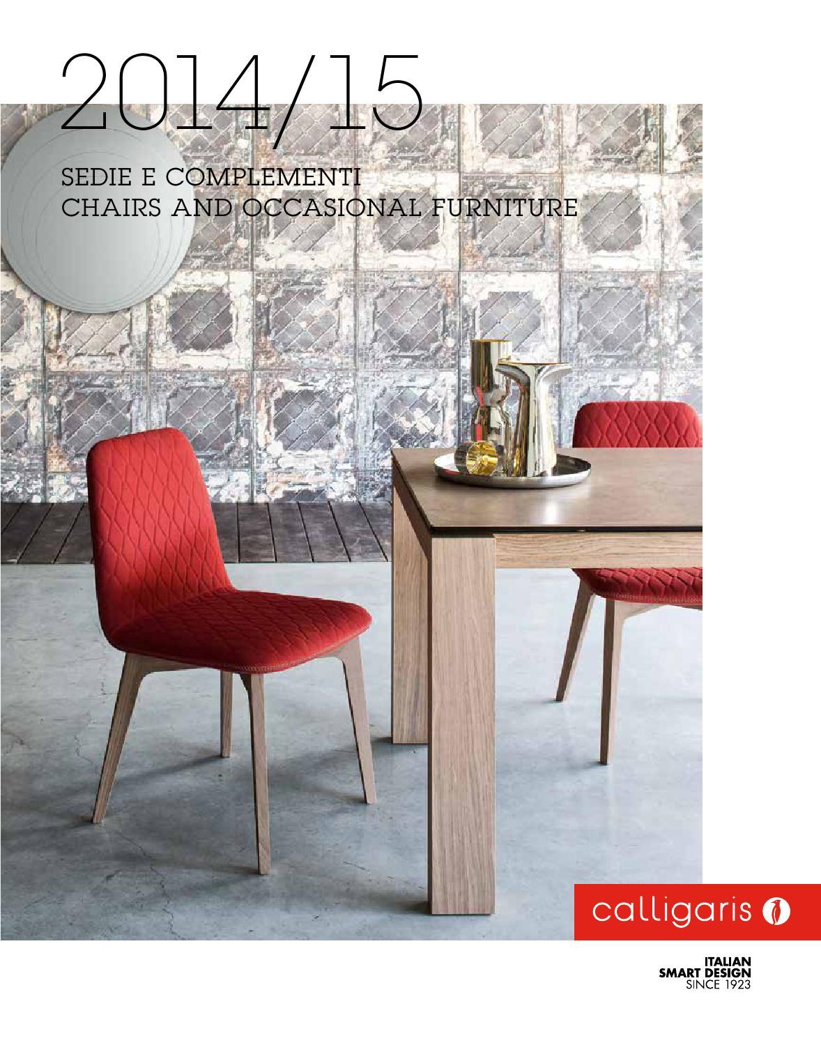 Calligaris catalogo 2014 fm sedie complementi by bassini arredi ...