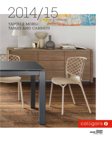 Calligaris catalogo 2014 freemarket tavoli mobili by for Bassini arredi
