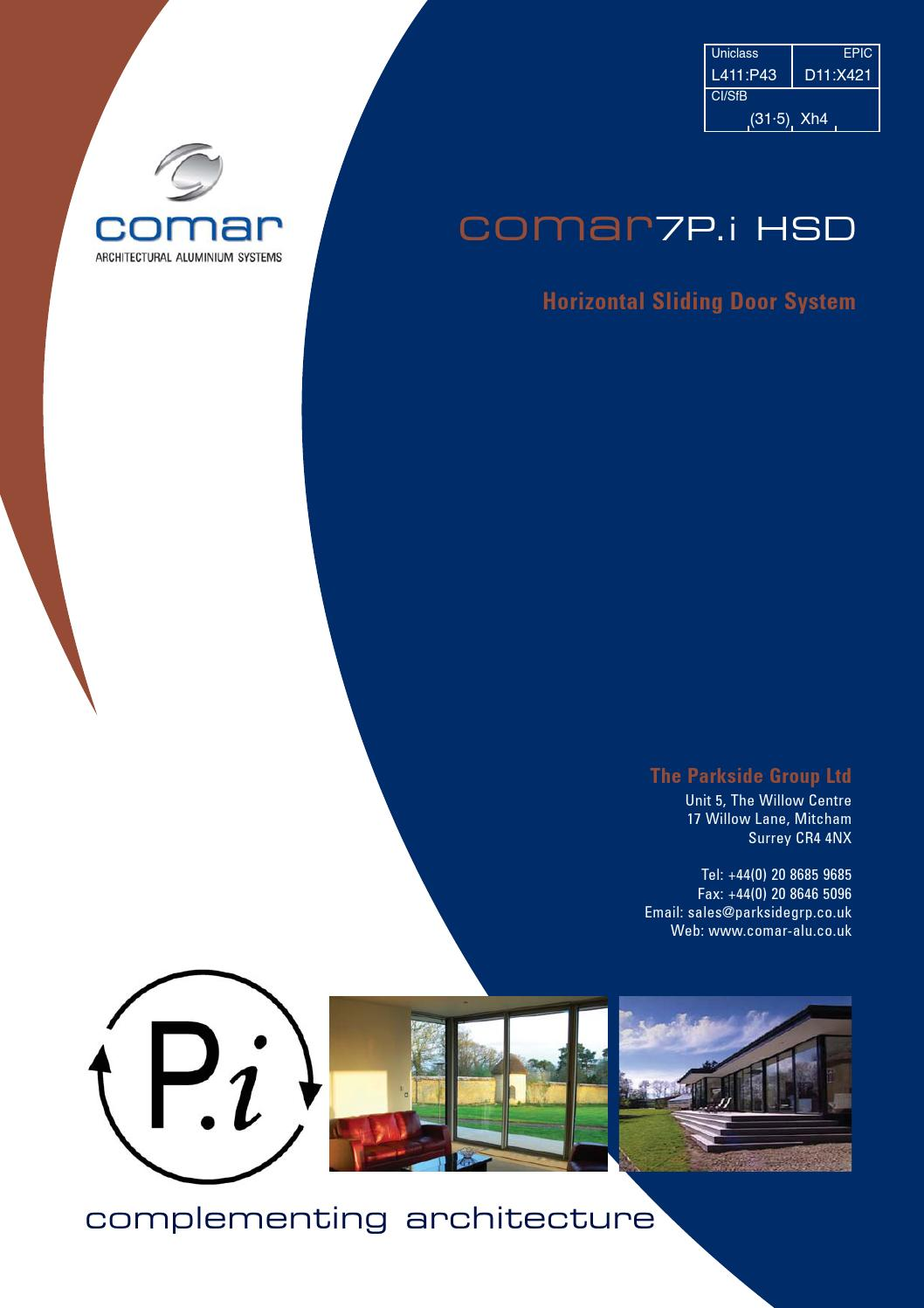 Comar 7p I Hsd By Comar Architectural Aluminium Systems