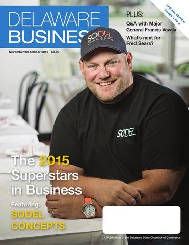 Delaware Business Magazine November/December 2015