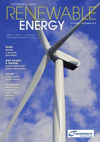 International Renewable Energy Magazine October November