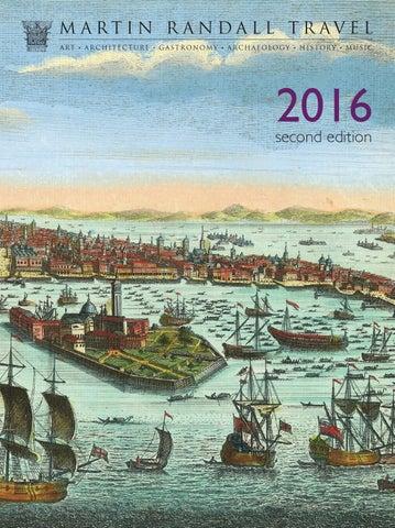 Martin Randall Travel 2016 (2nd edition) by Martin Randall Travel
