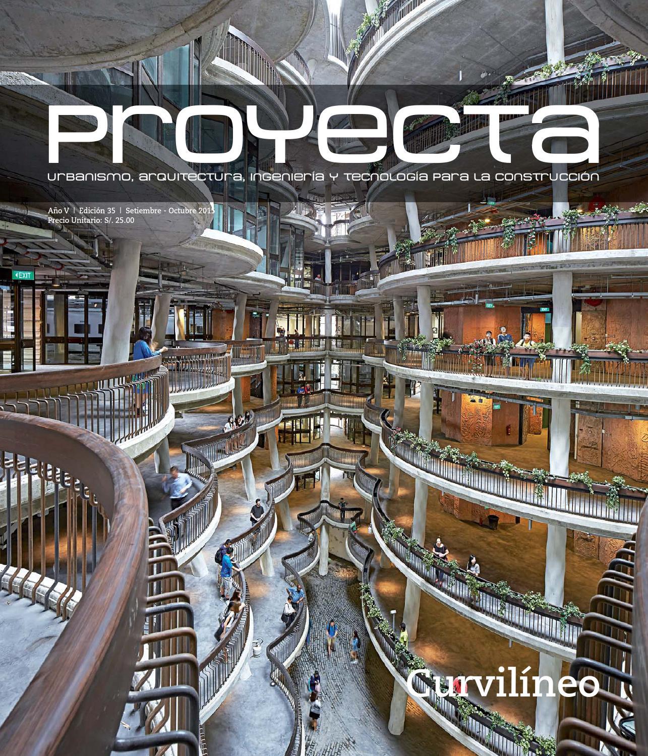 PROYECTA ED. 35. LIMA-PERU. by CONSTRUCCIÓN Y VIVIENDA - issuu