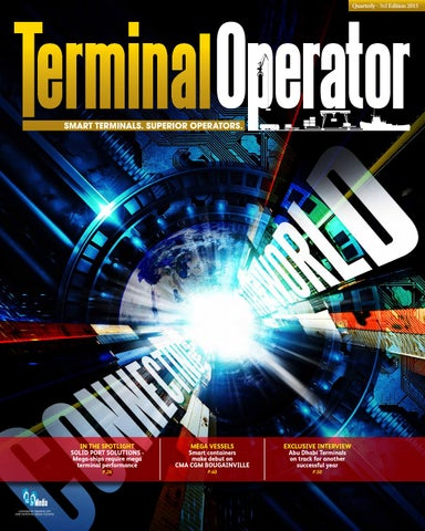 Terminal Operator - Quarterly 3rd Edition 2015 by Terminal Operator