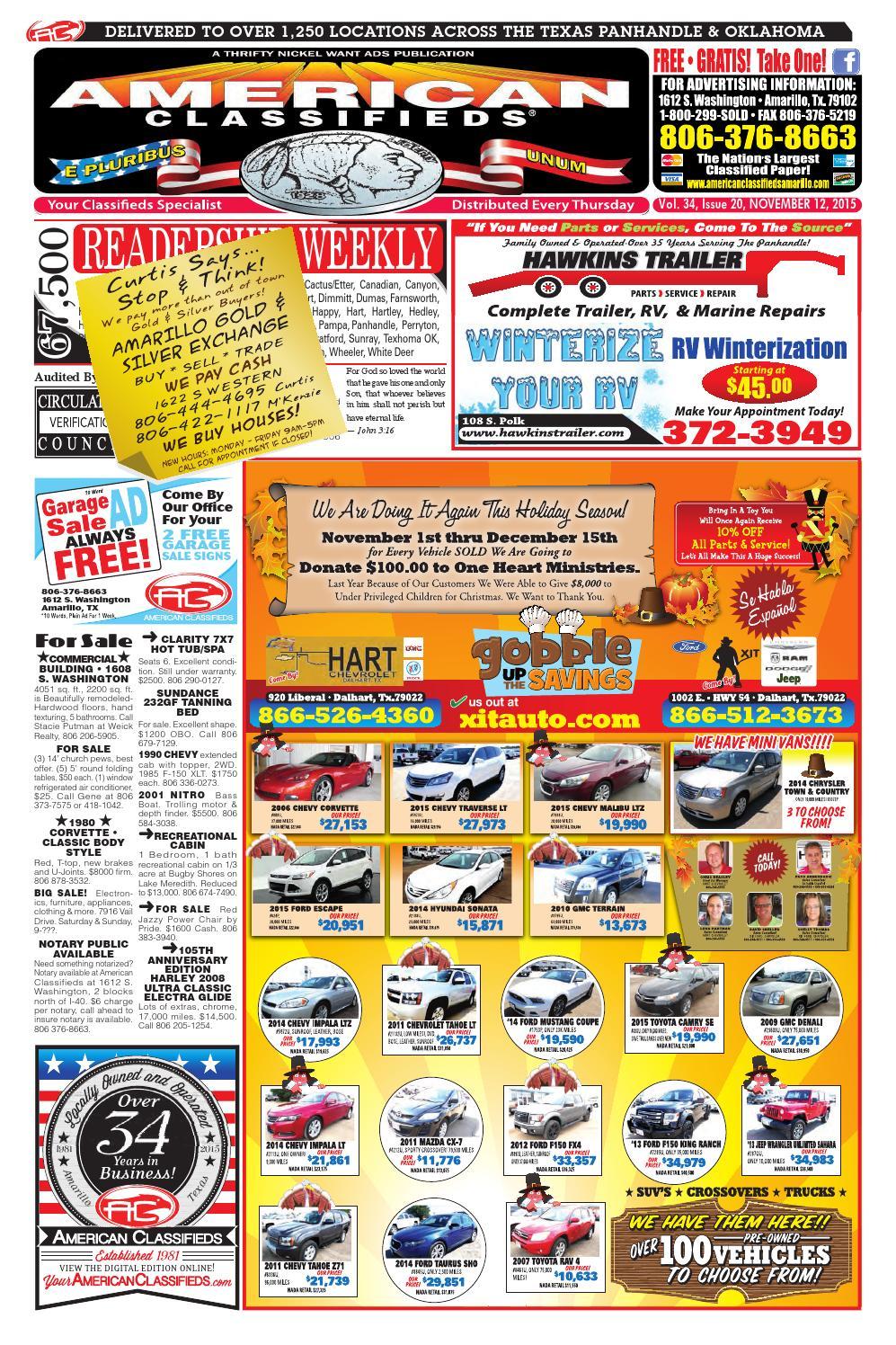 Miami Sundance Spa >> American Classifieds | Amarillo, TX | Nov 12, 2015 by American Classifieds - Issuu