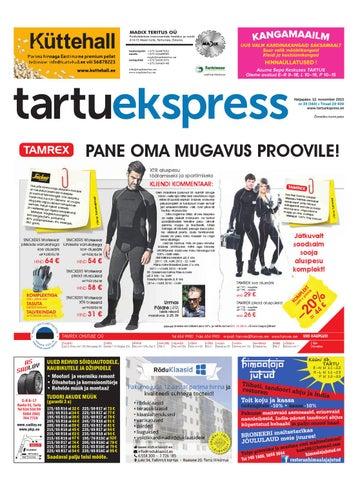 15a8697452a Tartu Ekspress, 5.12.2013 by Tartu Ekspress - issuu