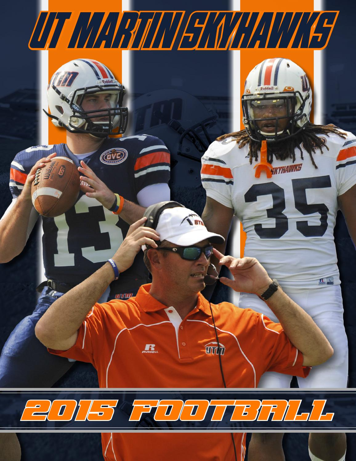 Media Skyhawk Issuu Athletics By - Football 2015 Martin Guide Ut