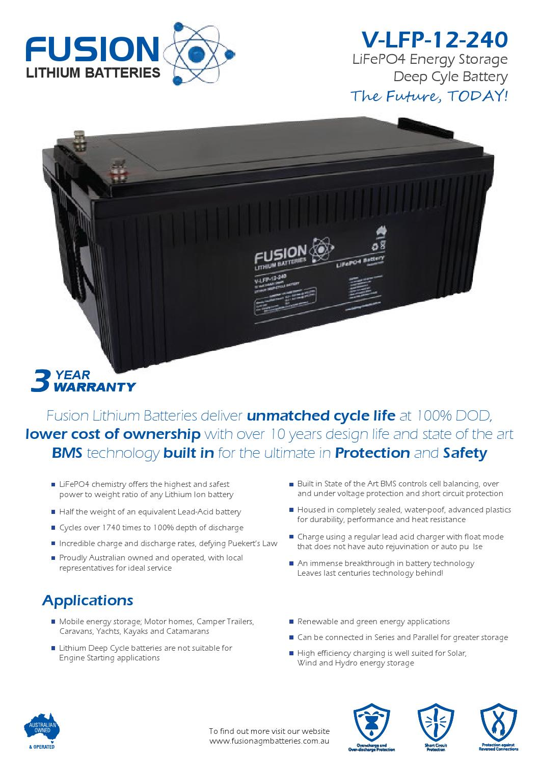 12v 200ah Sealed Datasheet By Solar Battery Warehouse Issuu And Low Voltage Protection Short Circuit Protectionin Car