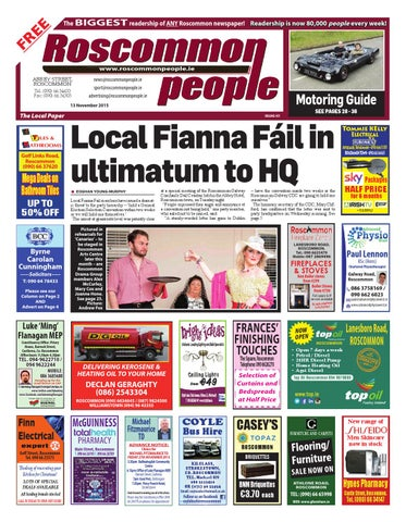3099dfbac2c0 2015 11 13 by Roscommon People - issuu