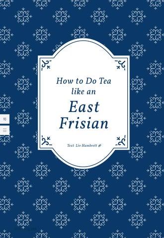 Page 90 of How to do tea like an East Frisian