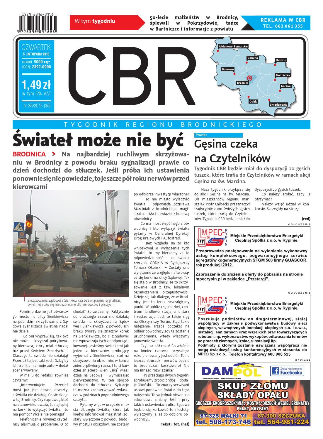 Cbr Nr 38 By Brodnica Cbrpl Issuu