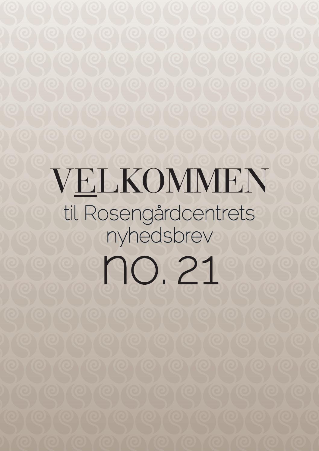 Rosengårdcentret opskrifter jul no.1 '15 by Rosengårdcentret - Issuu