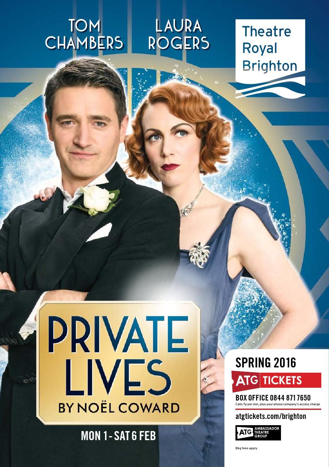 Theatre Royal Brighton - Spring Brochure 2016 - ATG Tickets by ATG ...
