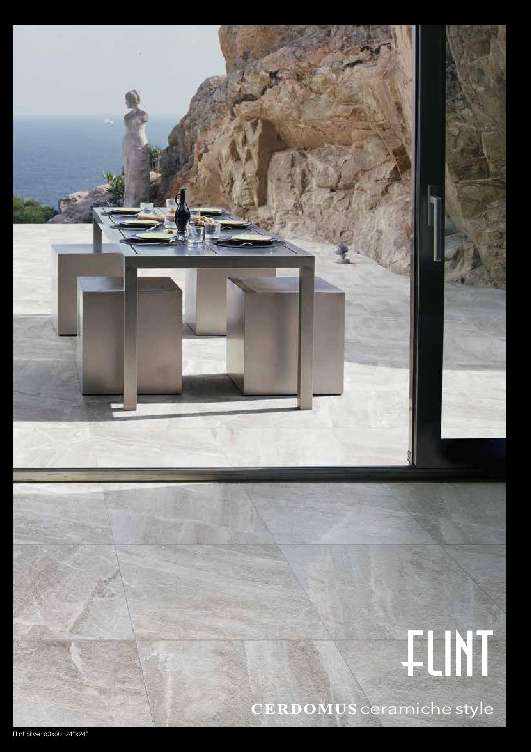 Catalogo flint by cerdomus ceramiche issuu - Fuga impermeabile ...