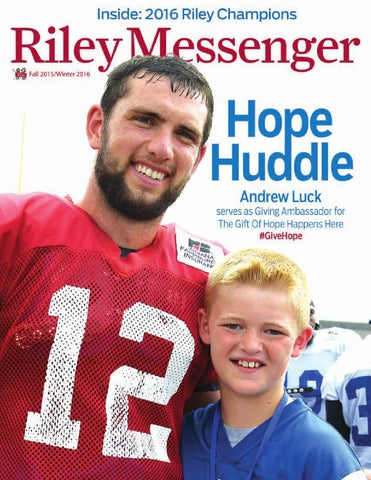 0bf79287f Riley Messenger: Fall 2015/Winter2016 by Riley Children's Foundation ...