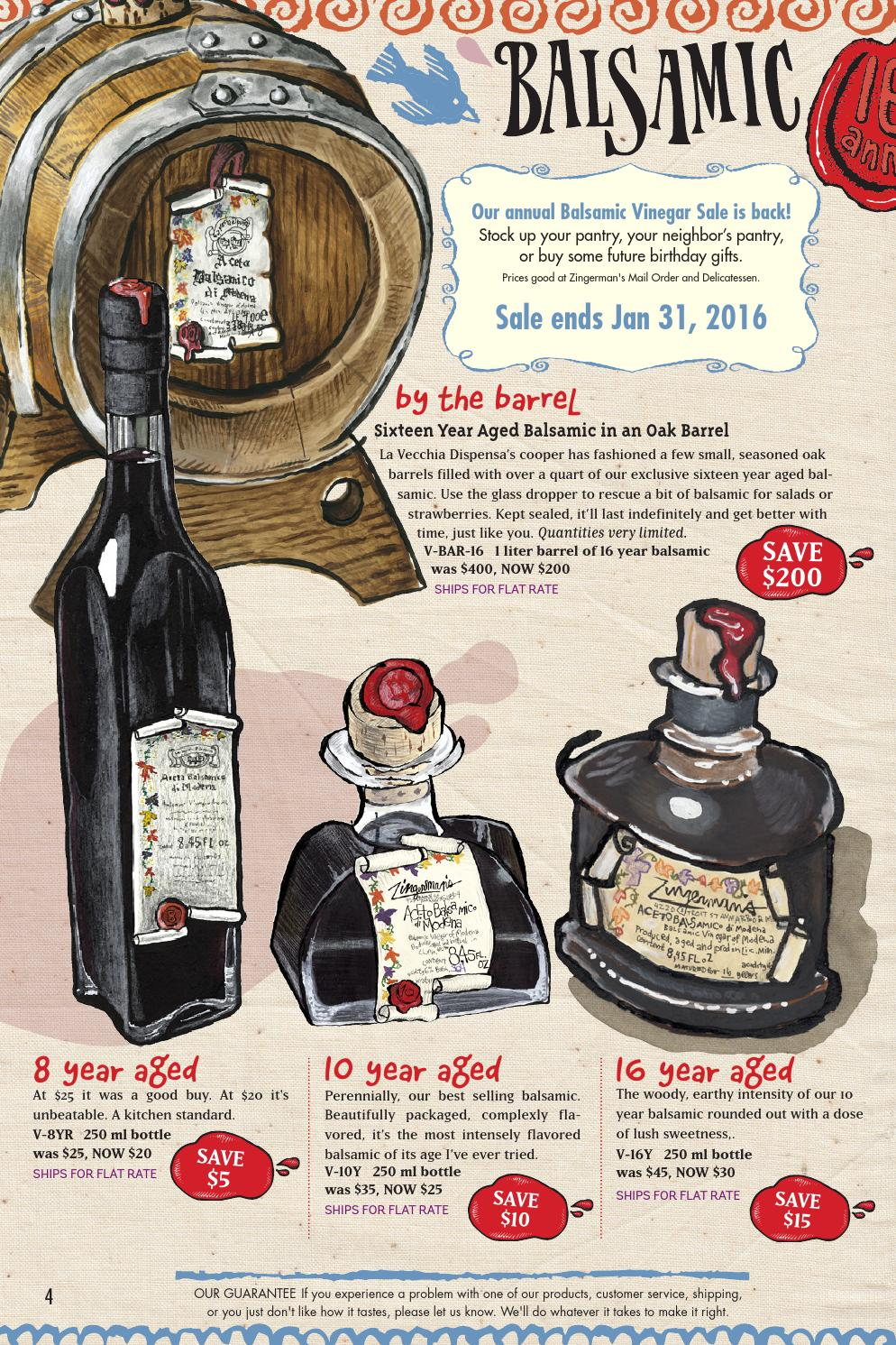 Zingerman's Mail Order Too Late Catalog 2016