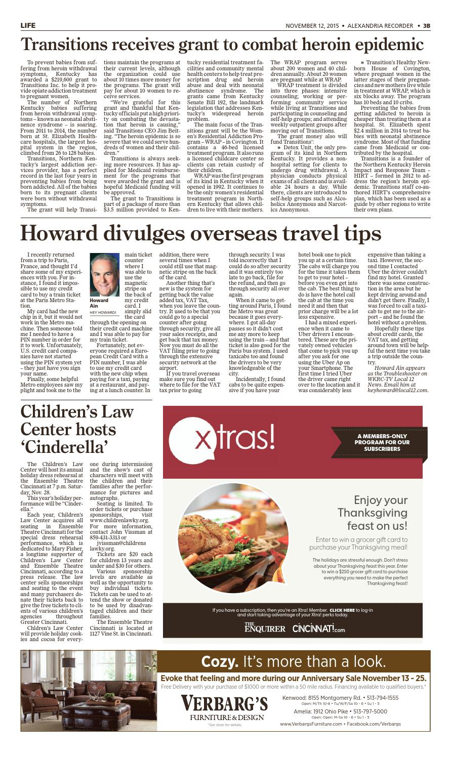 Alexandria recorder 111215 by Enquirer Media - issuu