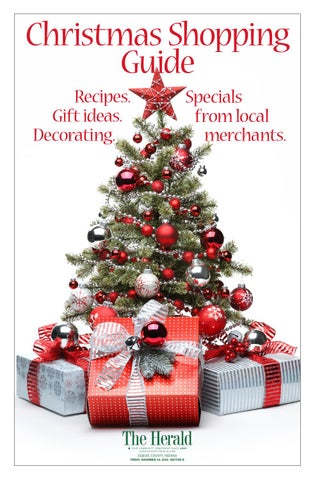 Christmas Shopping Guide 2015 By The Herald