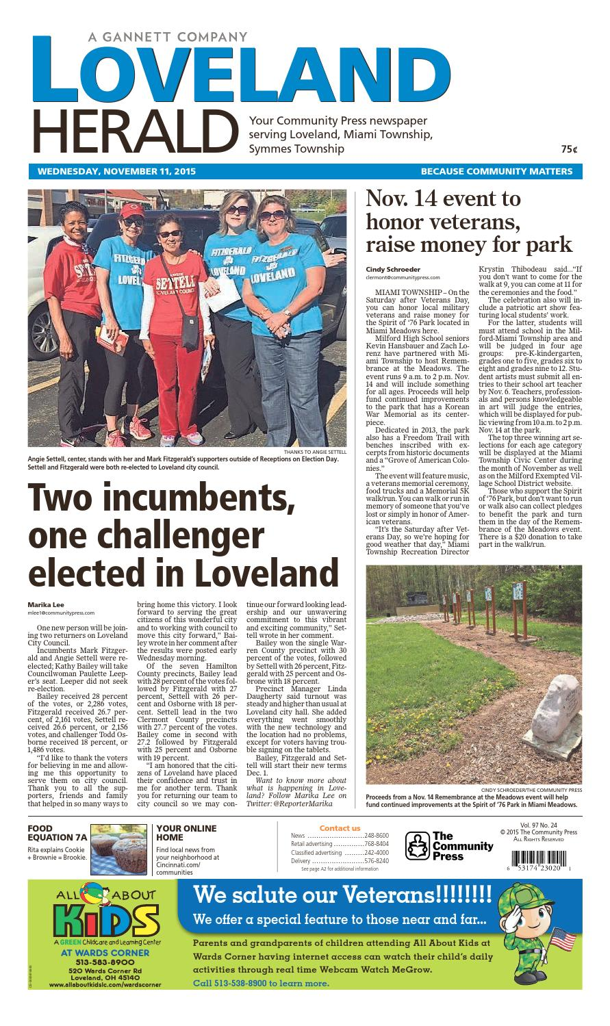 Loveland herald 111115 by Enquirer Media - issuu