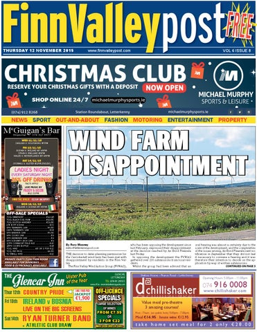 Finn valley post 12 11 15 by River Media Newspapers - issuu