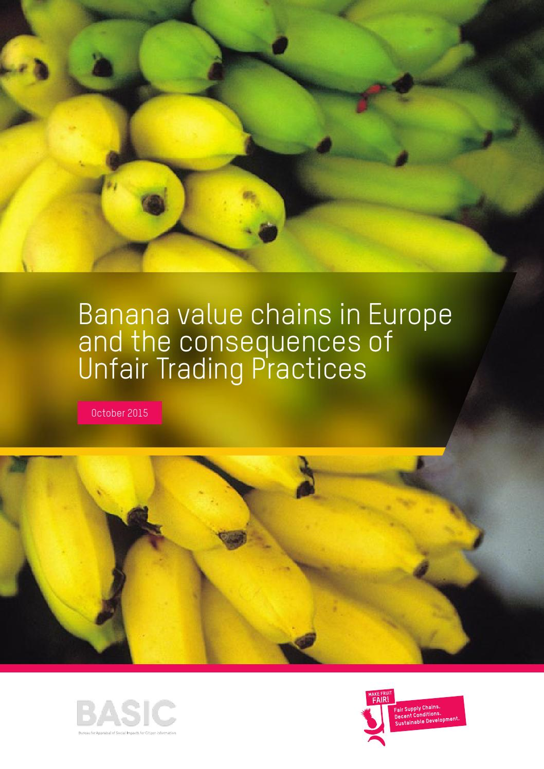 can banana value chain help eliminate hunger Agriculture in africa 3  eliminate hunger and food insecurity, but also to be a major play -  preneurship and investment in agribusinesses and agrifood value chains, improving national and.