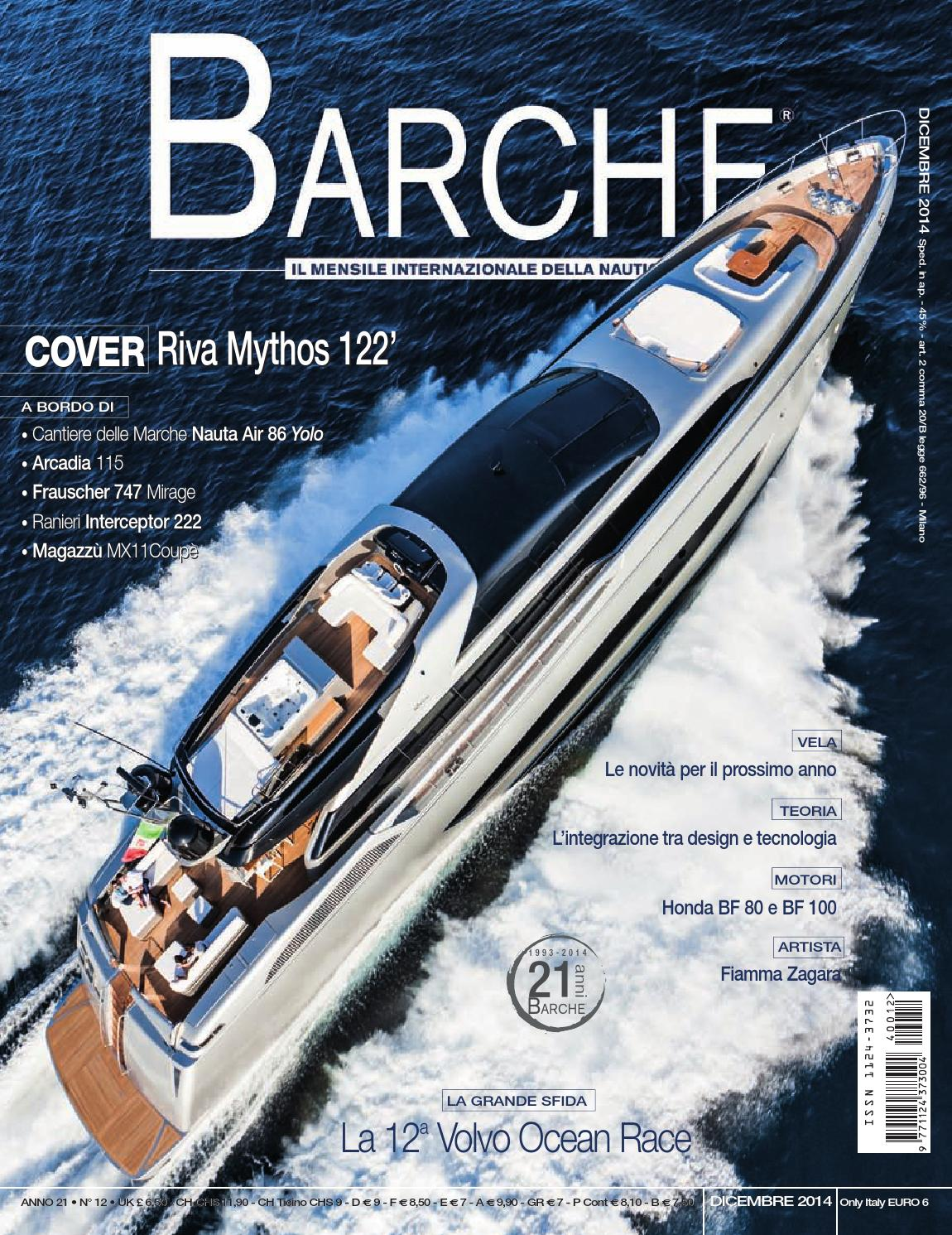 BARCHE DECEMBER 2014 by INTERNATIONAL SEA PRESS SRL - BARCHE - issuu 78fdec4a1b8