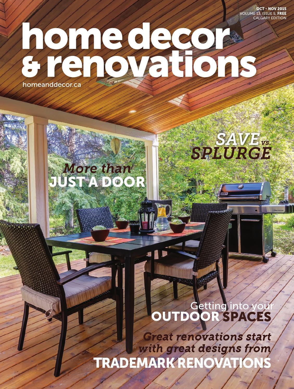 Calgary Home Decor Renovations Oct Nov 2015 By NextHome Issuu