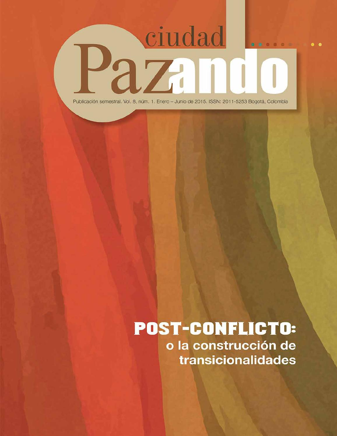 Revista Ciudad Paz-ando V8N1 by Ipazud Udistrital - issuu